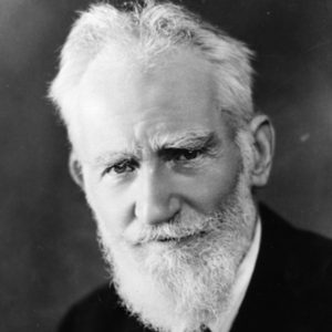 circa 1938: George Bernard Shaw (1856 - 1950) the dramatist, critic, writer, and vegetarian who was born in Dublin. (Photo by Hulton Archive/Getty Images)